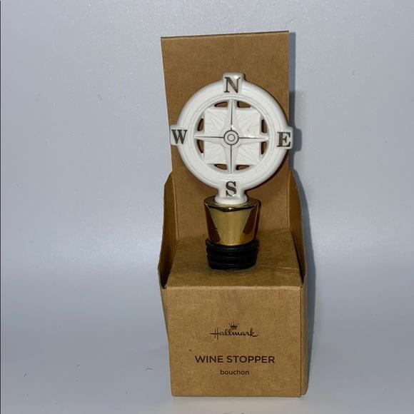 Hallmark Other - Hallmark Compass Wine Stopper